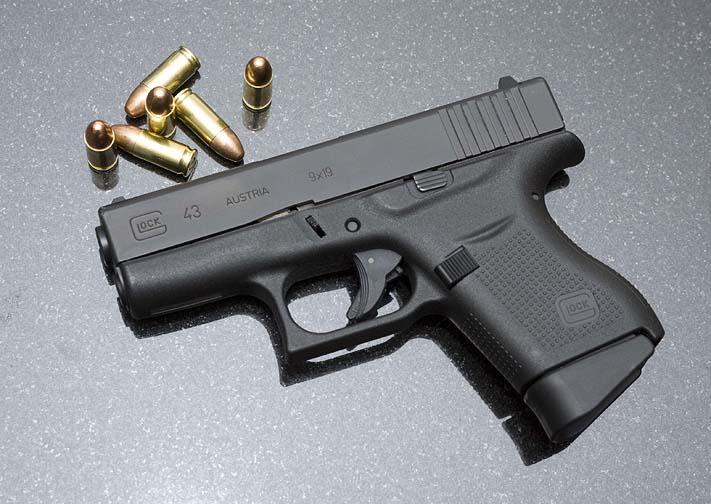 Pistolet bojowy Glock 43
